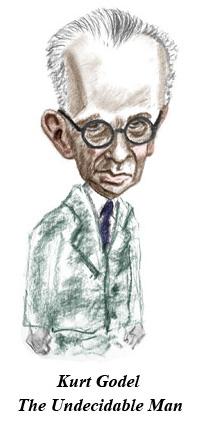 Image result for Kurt Gödel karikator