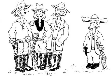 Billy the Kid and the Boys